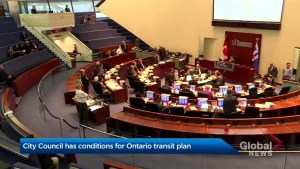 Toronto city council forms strategy to tackle provincial transit plan